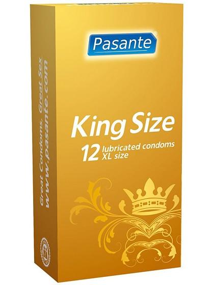 Pasante King Size: Kondomer, 12-pack | Kondomer | Intimast.se - Sexleksaker