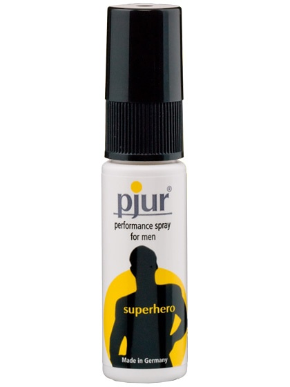 Pjur Superhero: Fördröjningsspray, 20 ml