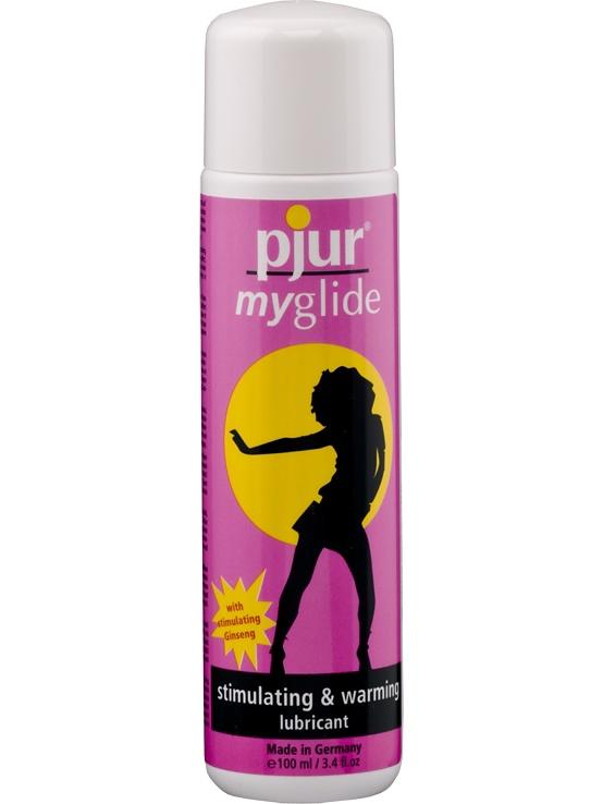 Pjur MyGlide: Värmande Vattenbaserat Glidmedel, 100 ml | Glidmedel | Intimast.se - Sexleksaker