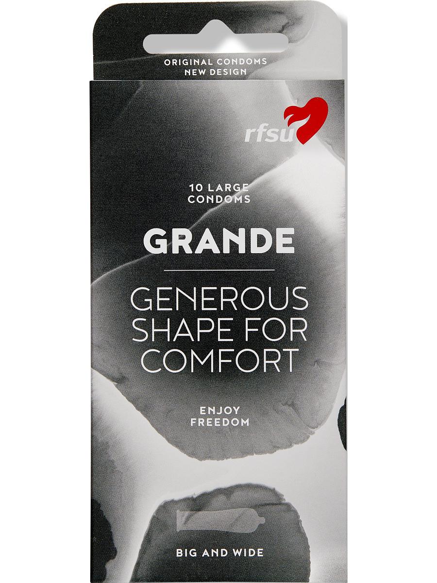 RFSU Grande (Okeido): Kondomer, 10-pack