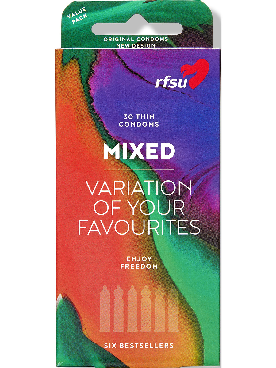 RFSU Mixed: Variation of Your Favourites, 30-pack