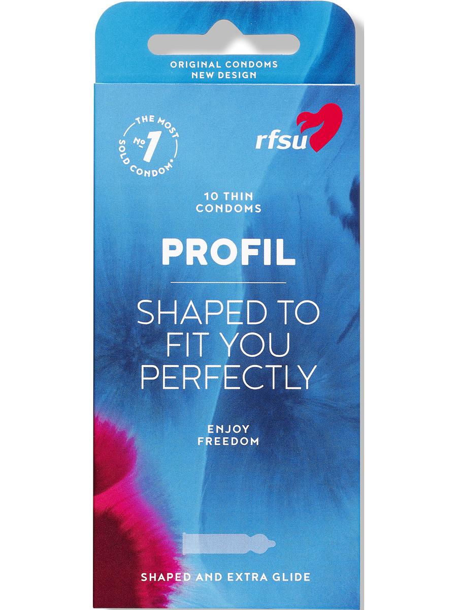 RFSU Profil: Kondomer, 10-pack | Kondomer | Intimast.se - Sexleksaker