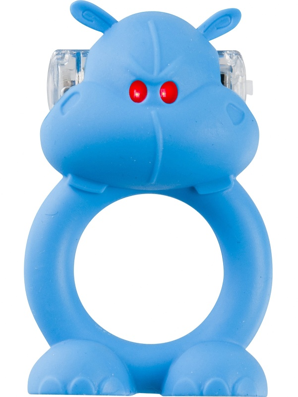 Shots Toys: Happy Hippo, Vibrerande Penisring