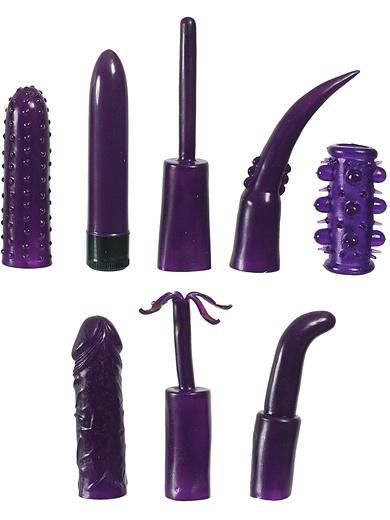 SevenCreations: Mega Purple, Sex Toy Kit