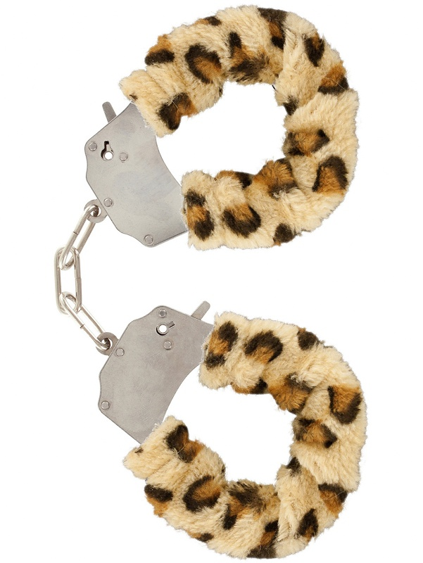 Toy Joy: Furry Fun Cuffs Plush, leopard