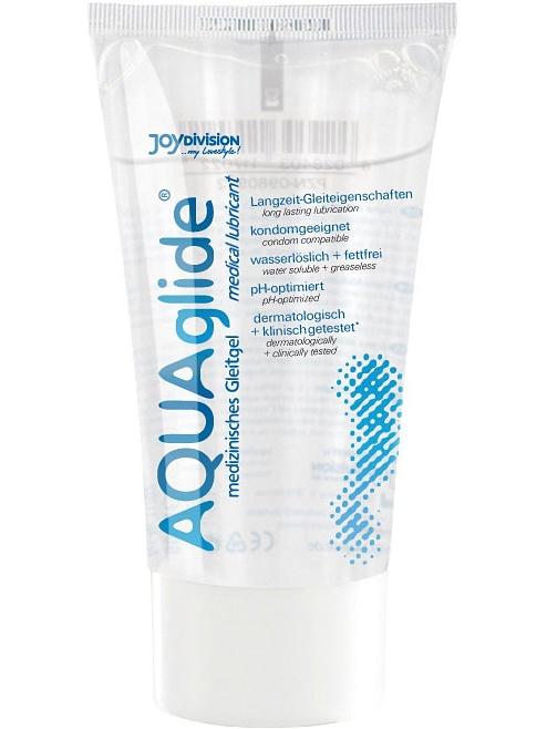 JoyDivision Aquaglide: Vattenbaserat Glidmedel, 50 ml