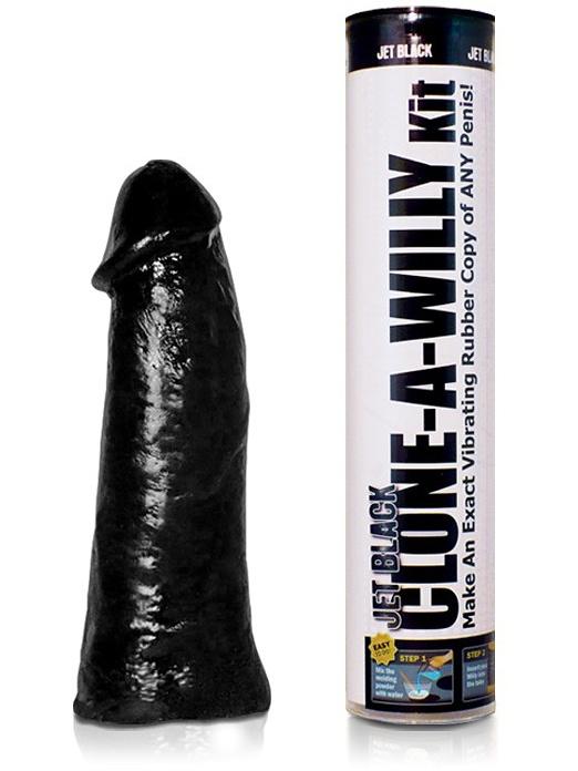 Clone-A-Willy: Vibrator Penisavgjutning, svart