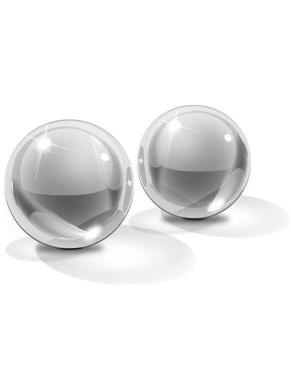 Pipedream Icicles: Glass Ben-Wa Balls No. 41, small