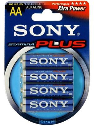 Sony Batterier: Stamina Plus, AA (LR6), 1,5V, Alkaline, 4-pack | Tillbehör | Intimast.se - Sexleksaker