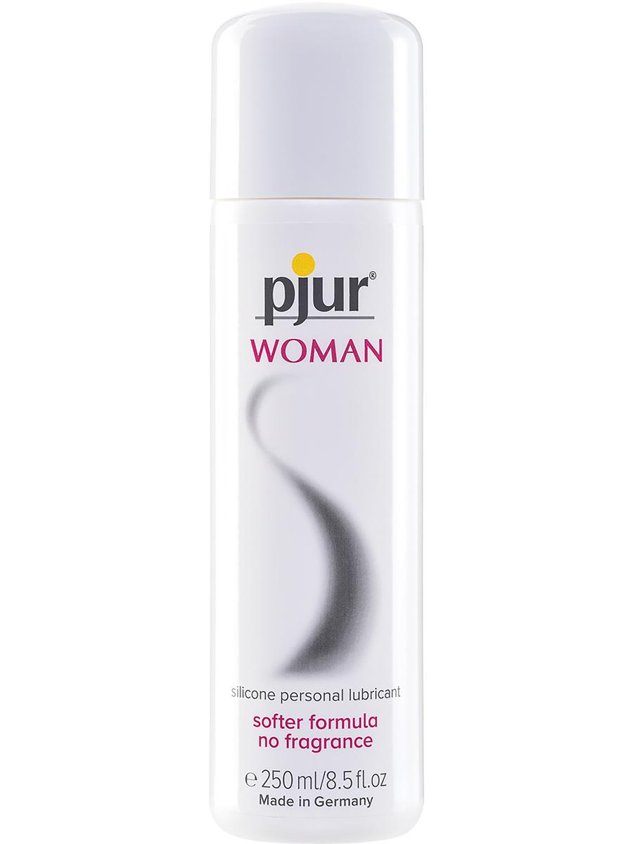 Pjur Woman Bodyglide: Silikonbaserat Glidmedel, 250 ml | Glidmedel | Intimast.se - Sexleksaker