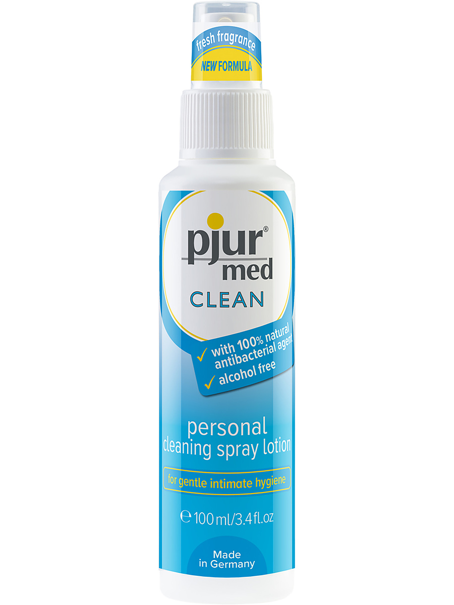 Pjur Clean: Cleaning Spray Lotion, 100 ml