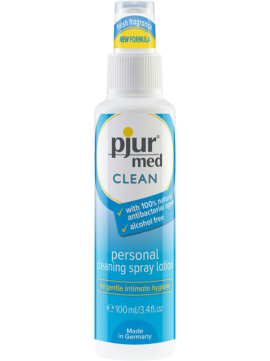 Pjur Clean: Cleaning Spray Lotion, 100 ml