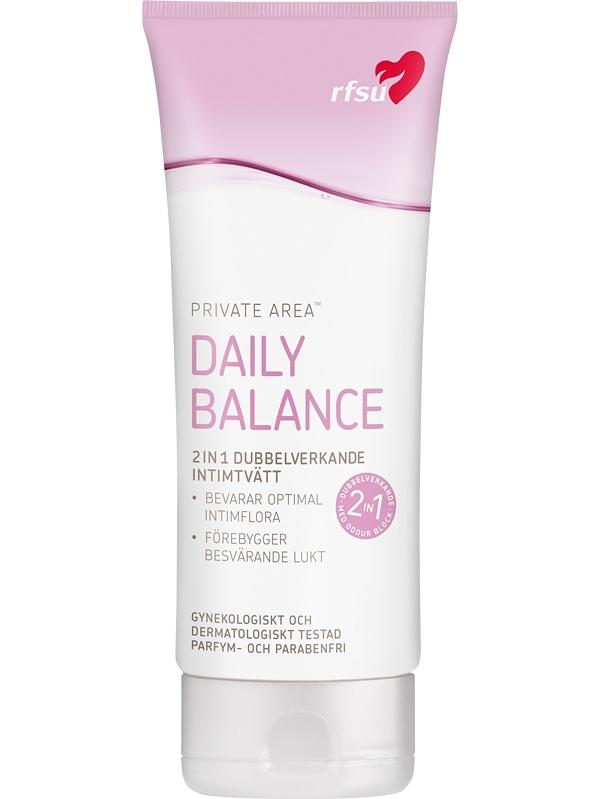 RFSU Daily Balance: Intimtvätt, 200 ml