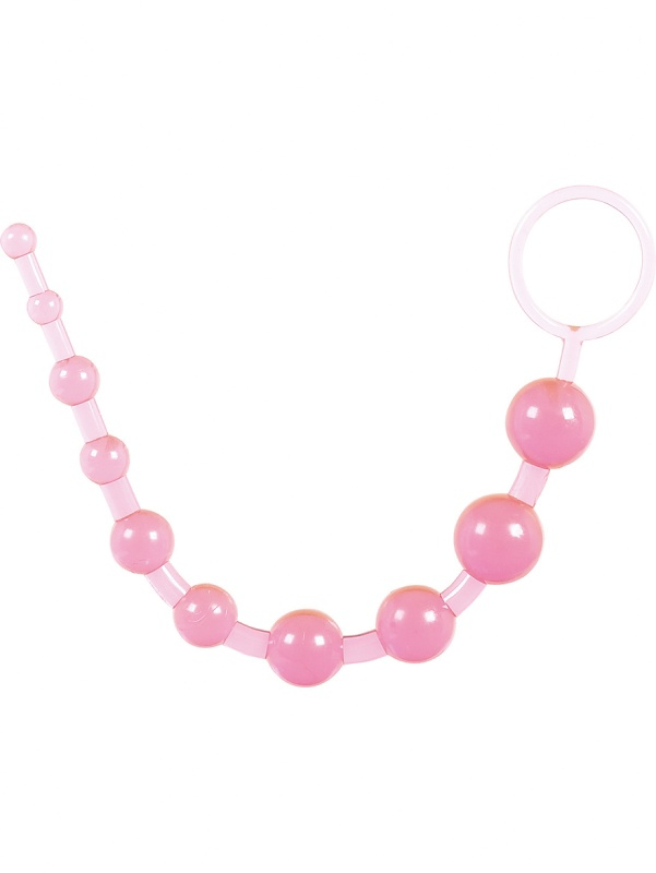 Toy Joy: Thai Toy Beads, rosa