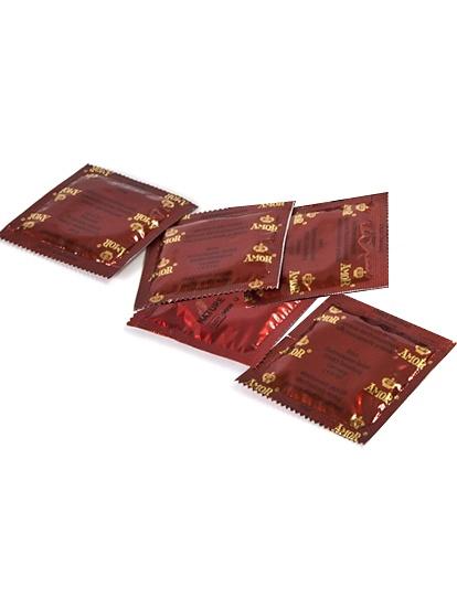 Amor Studded: Kondomer, 5-pack