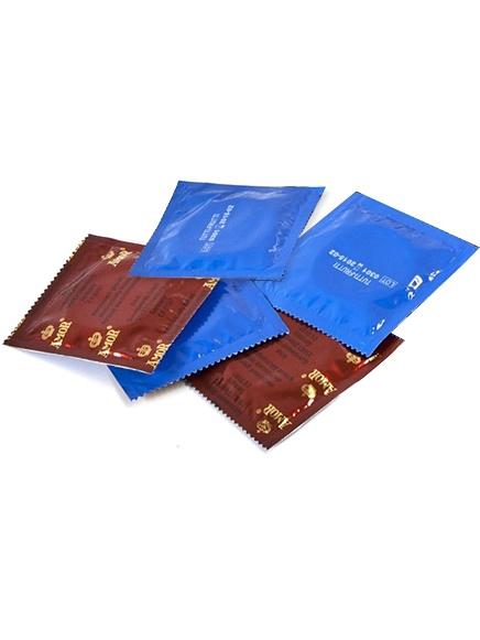 Amor Tutti-Frutti: Kondomer, 5-pack