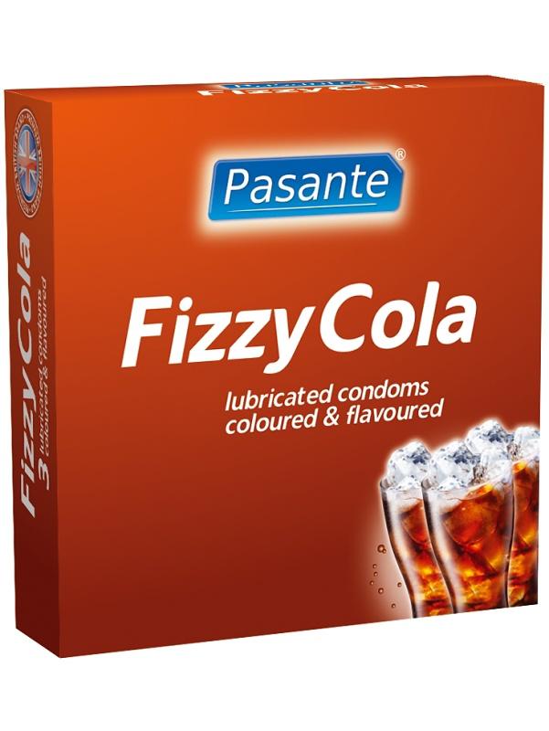 Pasante Fizzy Cola: Kondomer, 6-pack