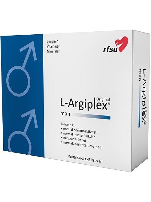 RFSU L-Argiplex Man: 45 st kapslar