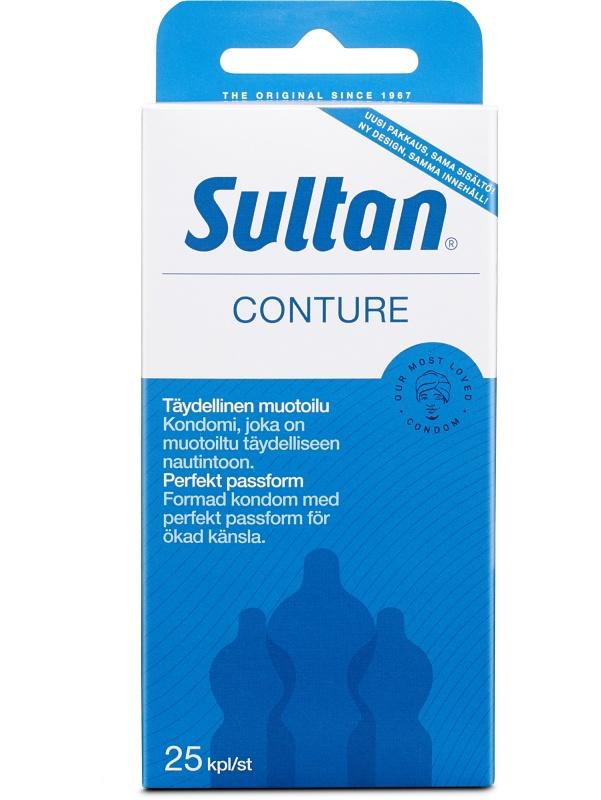 Sultan Conture: Kondomer, 25-pack | Kondomer | Intimast.se - Sexleksaker