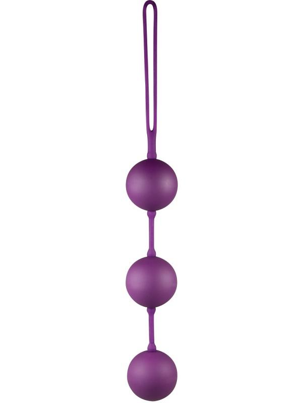 You2Toys: Velvet Purple Balls Triple