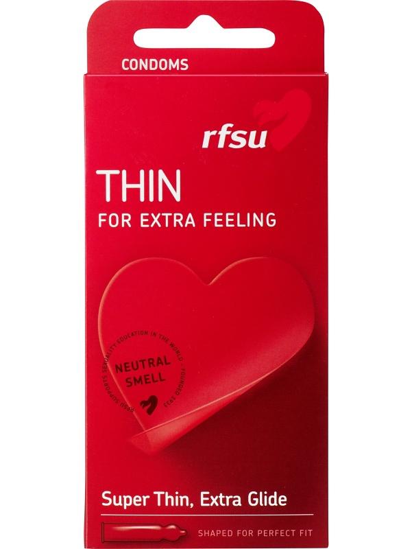 RFSU Thin: Kondomer, 5-pack | Kondomer | Intimast.se - Sexleksaker