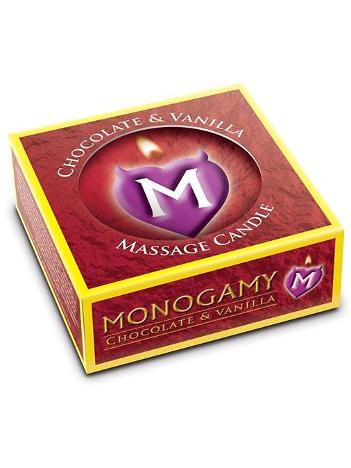 Monogamy Massageljus: Choklad & Vanilj