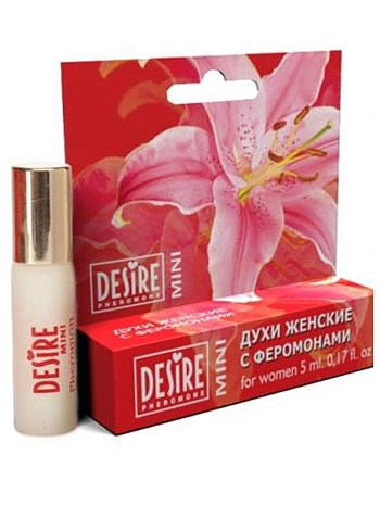 Desire Pheromone: Mini for Women, 5 ml