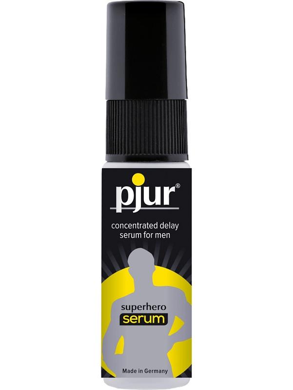 Pjur Superhero Serum: Fördröjningsspray, 20 ml