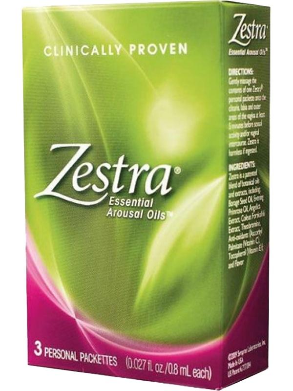 Innovus Pharma: Zestra, 3-pack