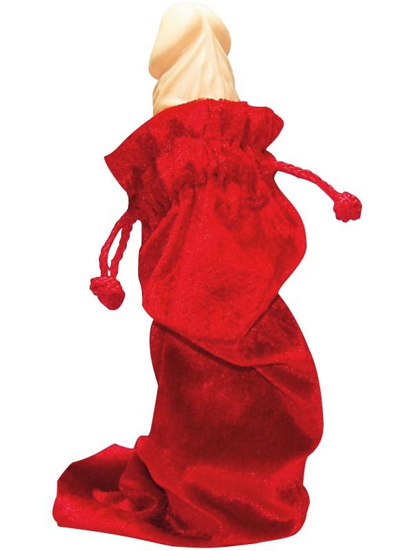 You2Toys: Förvaringspåse, 30x12 cm, röd sammet