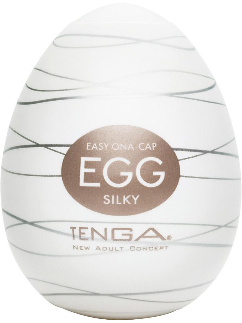 Tenga Egg: Silky, Runkägg