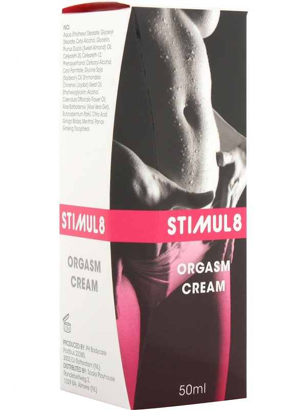 Stimul8: Orgasm Cream, 50 ml