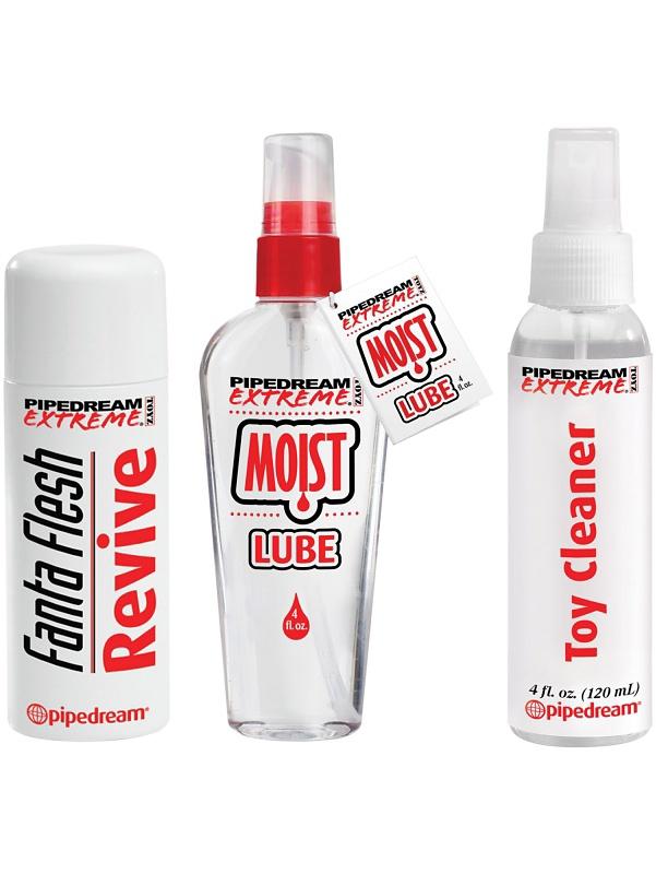Pipedream Extreme: Fanta Flesh Care Kit | Rengöring av leksaker | Intimast.se - Sexleksaker