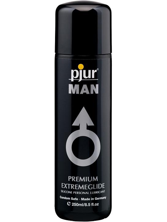 Pjur Man: Premium Extremeglide, Silikonbaserat Glidmedel, 250 ml