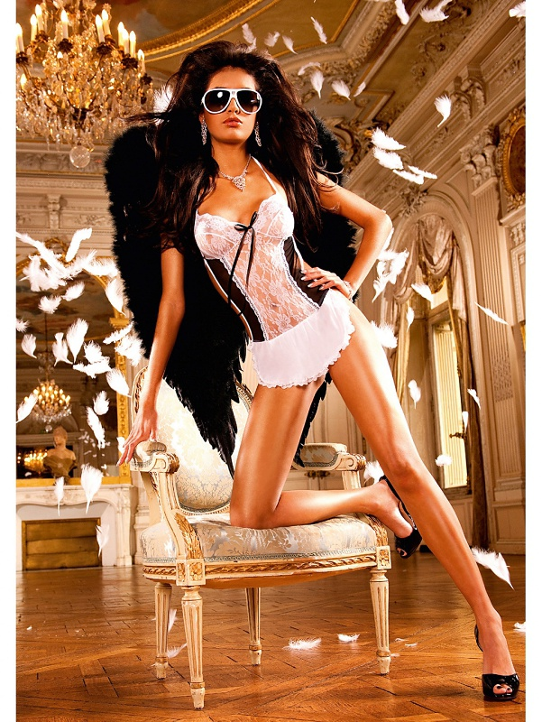 Baci: French-Maid Bedtime Costume, One Size