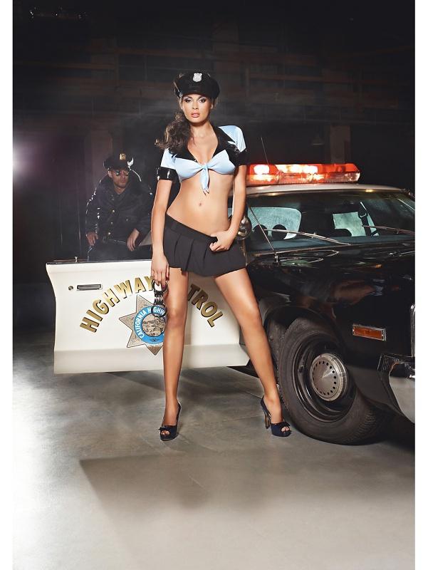 Baci: Police Set, 3 pcs, One Size