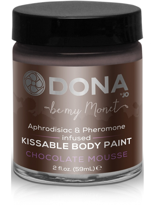 System JO: Dona, Kissable Body Paint, Chocolate Mousse, 59 ml