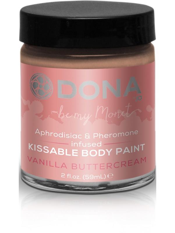System JO: Dona, Kissable Body Paint, Vanilla Buttercream, 59 ml