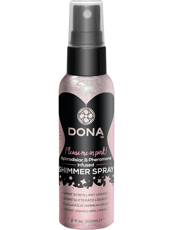 System JO: Dona, Please me in Pink, Shimmer Spray, 60 ml