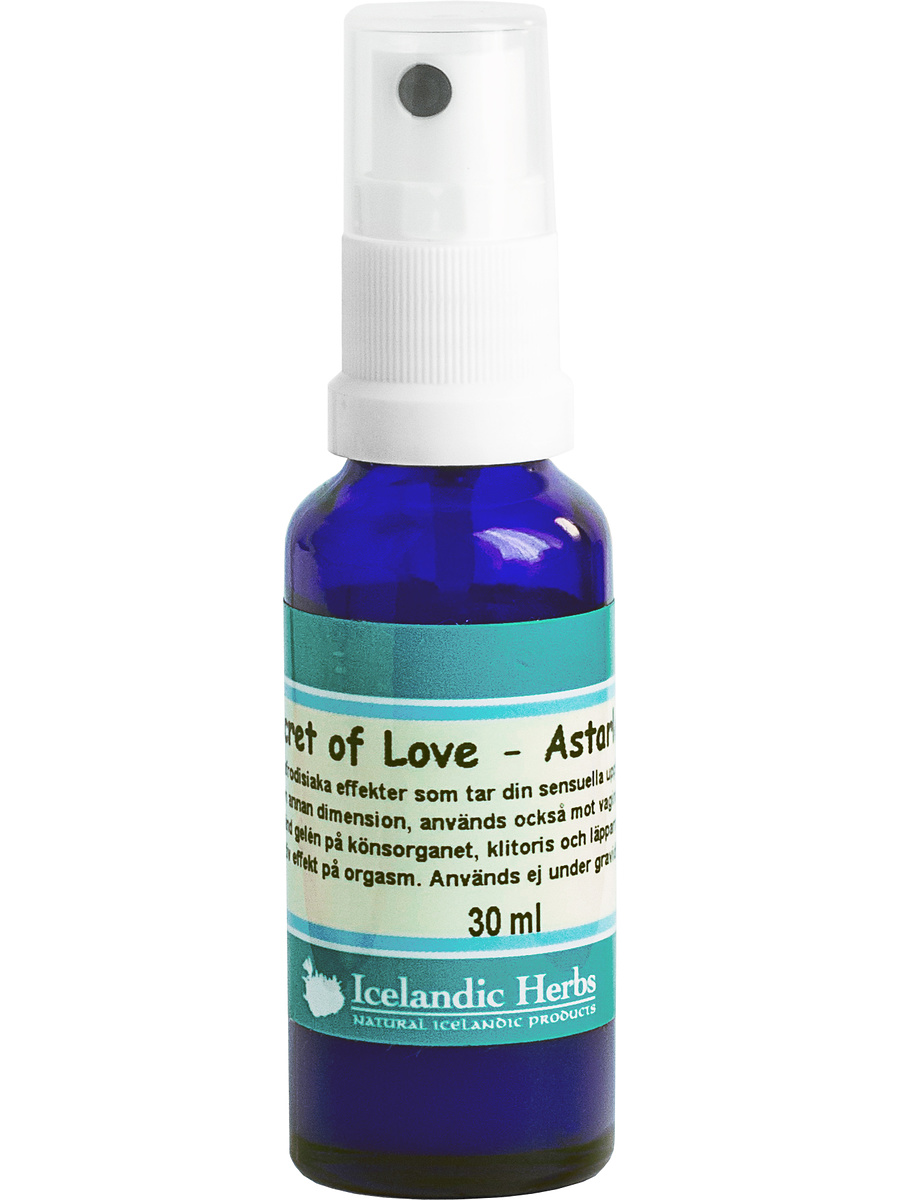 Icelandic Herbs: Secret of Love, 30 ml