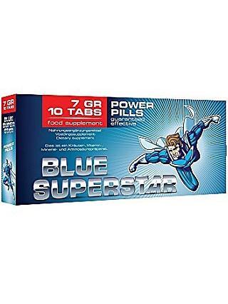 Pharmquests: Blue Superstar, 10 tabletter