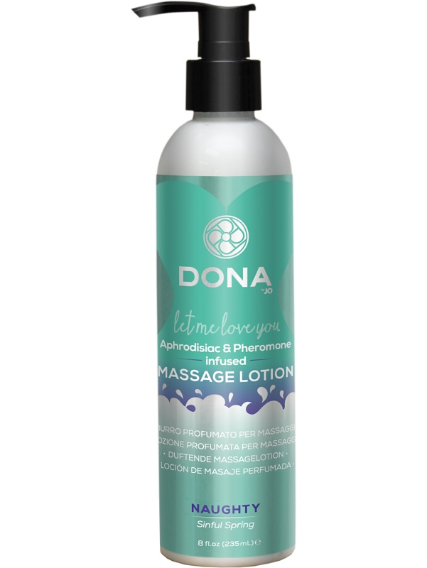 System JO: Dona, Massage Lotion, Naughty, Sinful Spring, 235 ml
