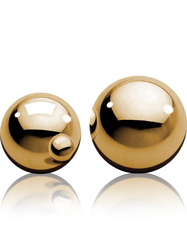 Pipedream Fetish Fantasy: Ben-Wa Balls, gold