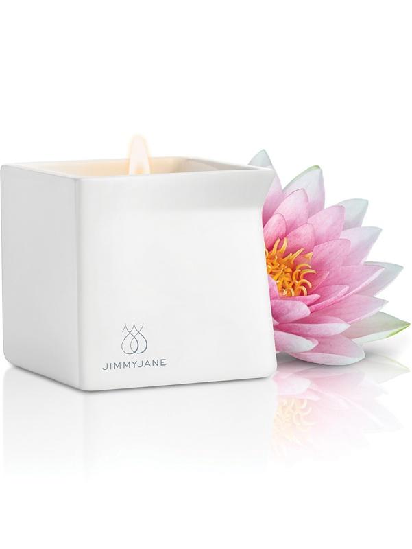 Jimmyjane: Afterglow, Massage Candle, Pink Lotus