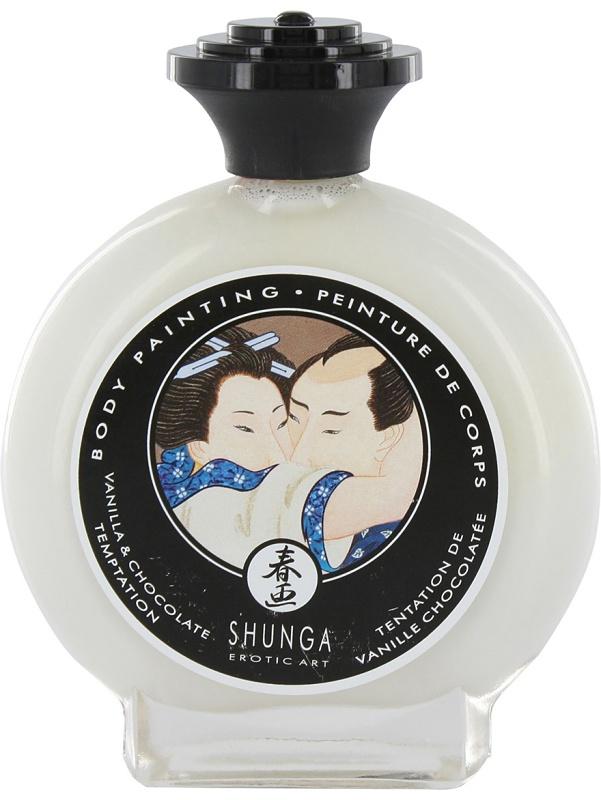 Shunga Body Painting: Vanilj & Choklad, 100 ml