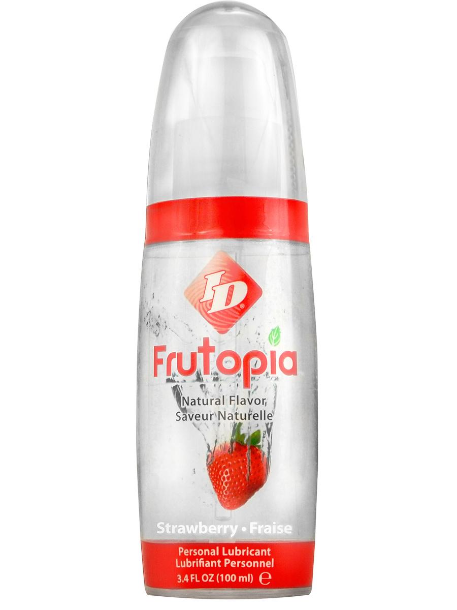 ID Lubricants: Frutopia, Personal Lubricant, Strawberry, 100 ml | Glidmedel | Intimast.se - Sexleksaker