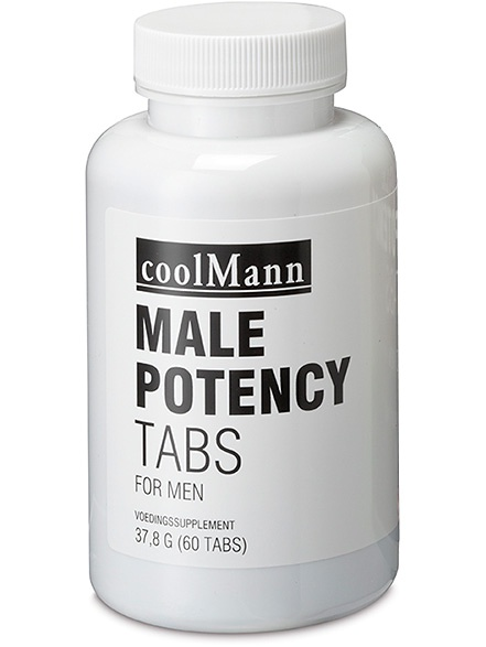 CoolMann: Male Potency Tabs, 60 kapslar