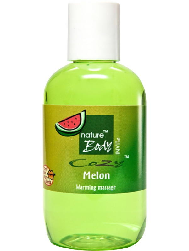 Nature Body: Cozy Melon, Warming Massage, 100 ml