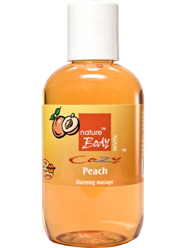 Nature Body: Cozy Peach, Warming Massage, 100 ml