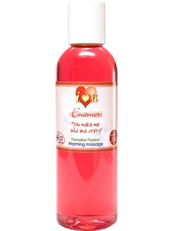 Nature Body: Enamor, Paradise Passion, Warming Massage, 100 ml